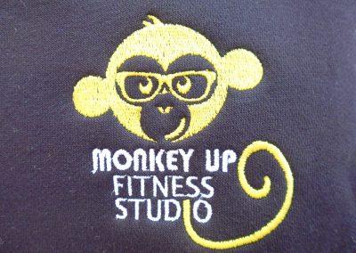 Felpa ricamata Monkey UP