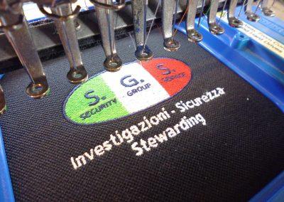 Ricamo personalizzato SGS